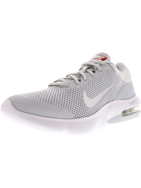 lyst nike air max vantaggio di puro platino / lupo bianco grigio caviglia