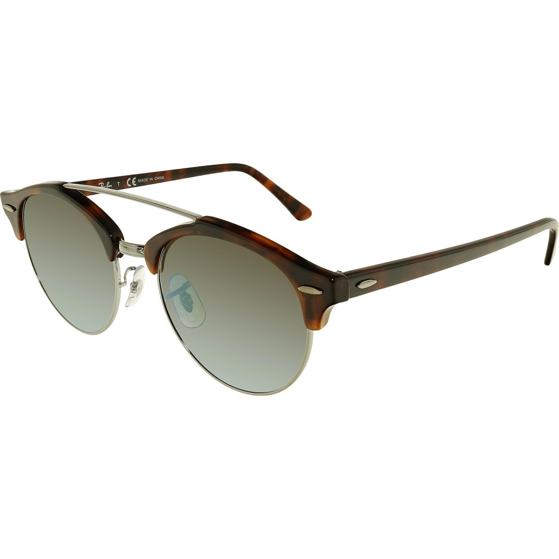 cb506e7b4cac60 Lyst - Ray-Ban Clubround Double Bridge Sunglasses Rb4346-62519j-51 ...