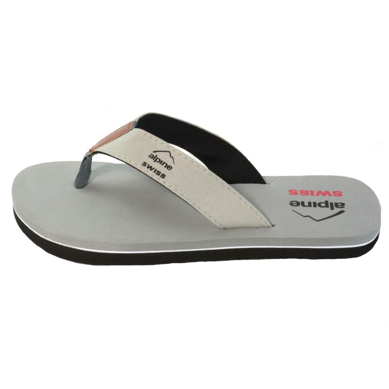 d27a1f1db Shoes alpine swiss Mens Flip Flops Beach Sandals Lightweight EVA Sole  Comfort Thongs By Alpine Swiss