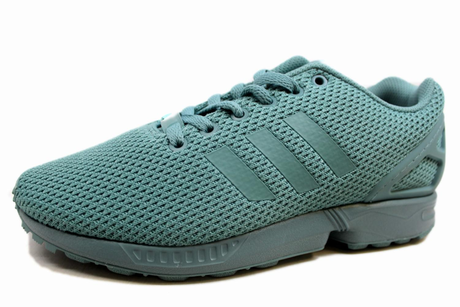 brand new 8e99d a7889 Lyst - Adidas Zx Flux Shoe Rubber Grey in Gray
