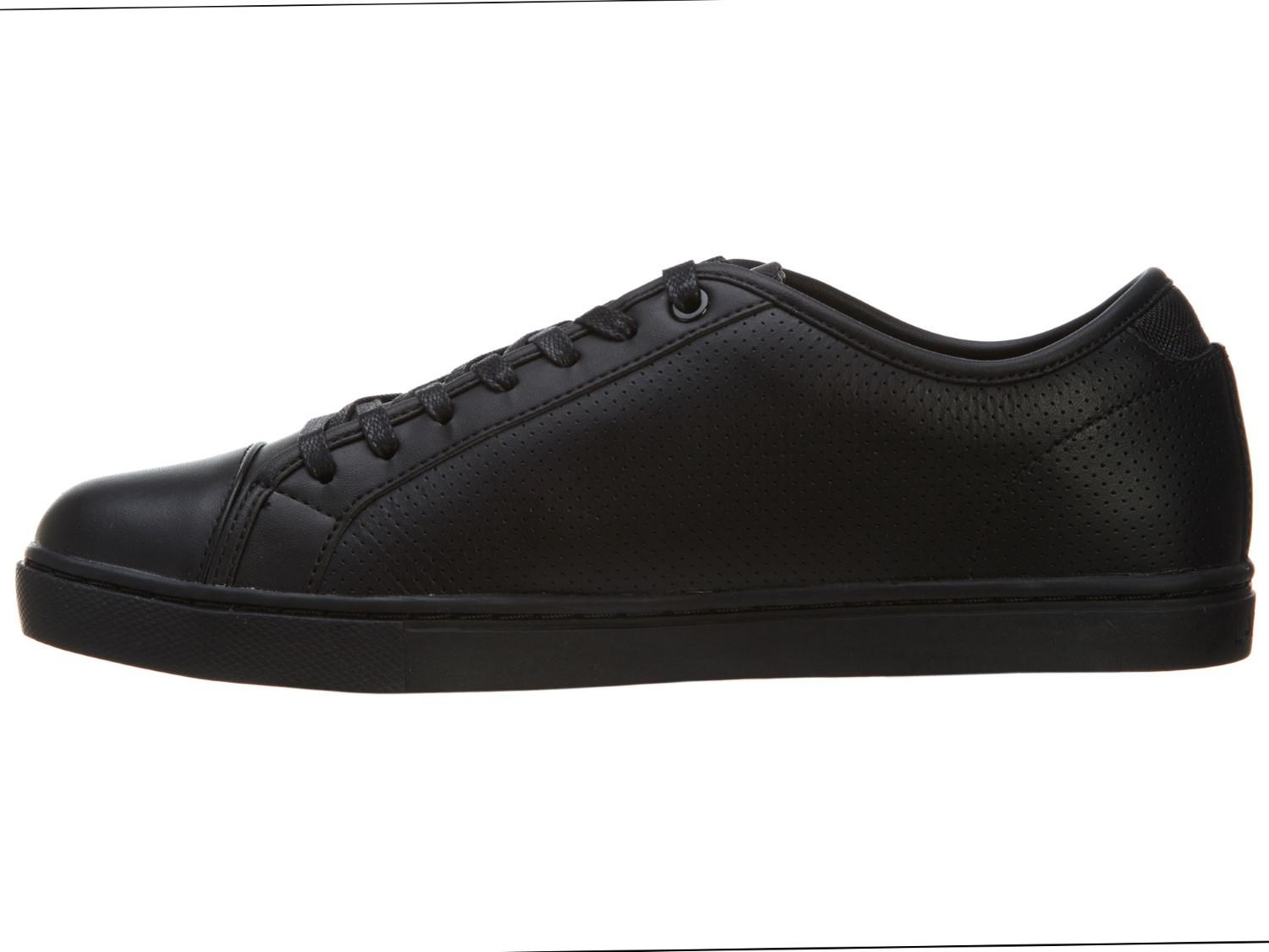 9663b5d13 Lyst - Lacoste Show Court Ctr Spm Leather Shoes in Black for Men
