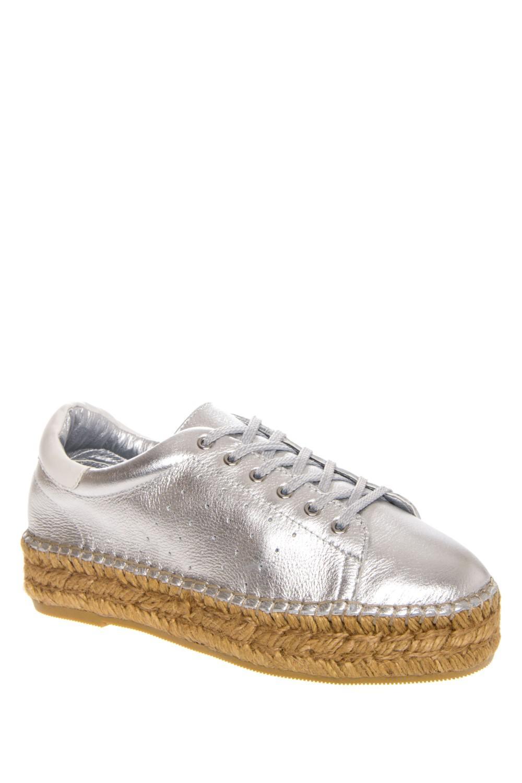 bc10f0fc3b0 Lyst - Steve Madden Steven Pace Women Us 6.5 Silver Fashion Sneakers ...