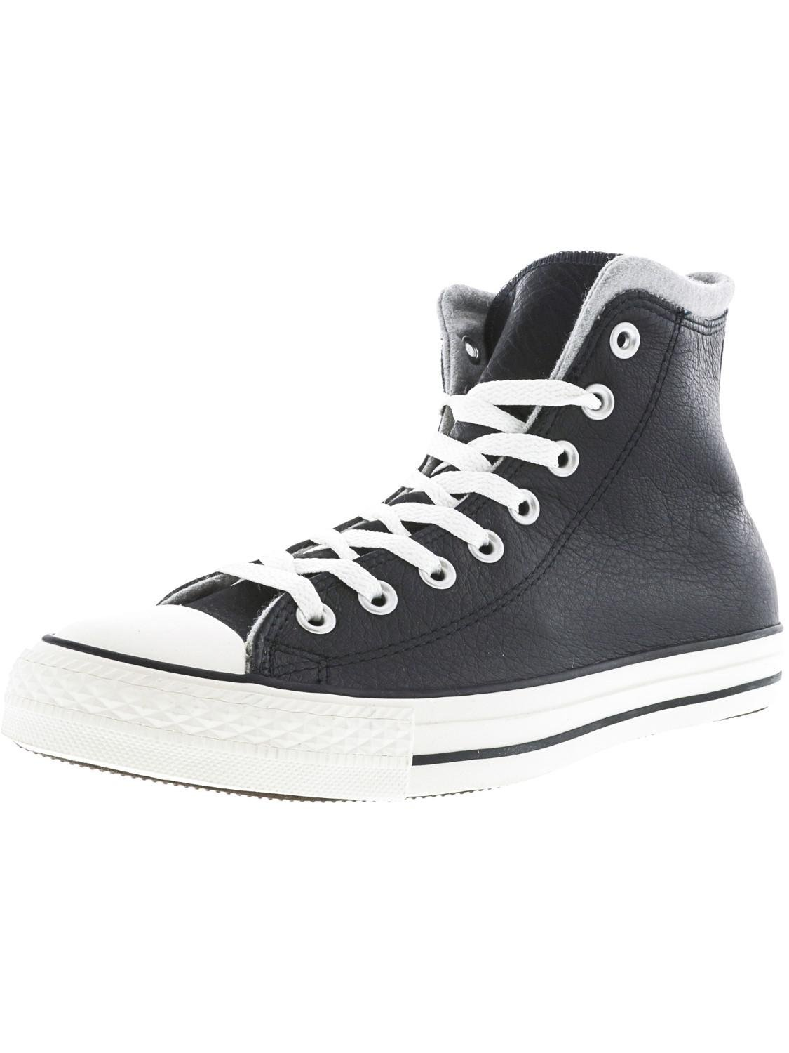 Lyst - Converse Chuck Taylor All Star Hi Black   Egret Dolphin High ... d6be15275