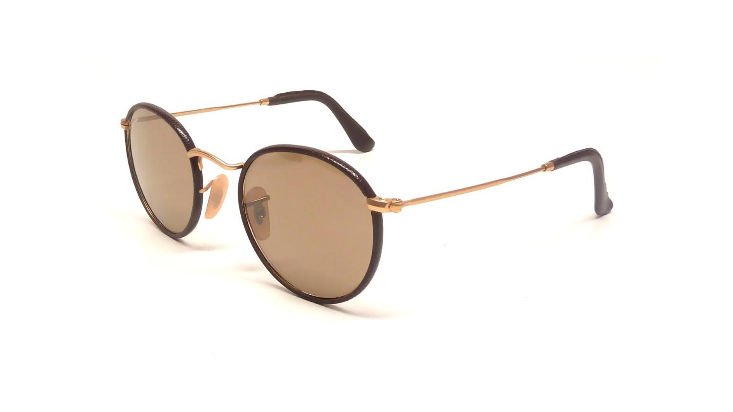 0af99d237a3e4 Lyst - Ray-Ban 0rb3475q 112 53 50 Matte Arista brown Leather crystal ...