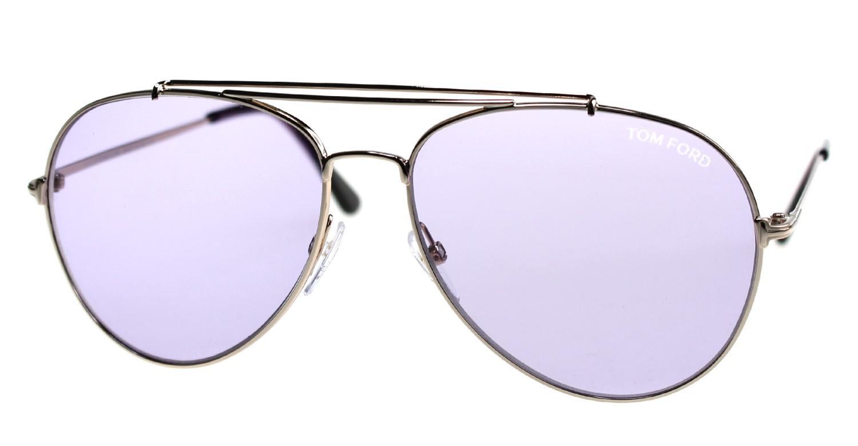 1f4e7a2182e00 Tom Ford Sunglasses Indiana Tf 497 Ft 28y Shiny Rose Gold   Violet ...