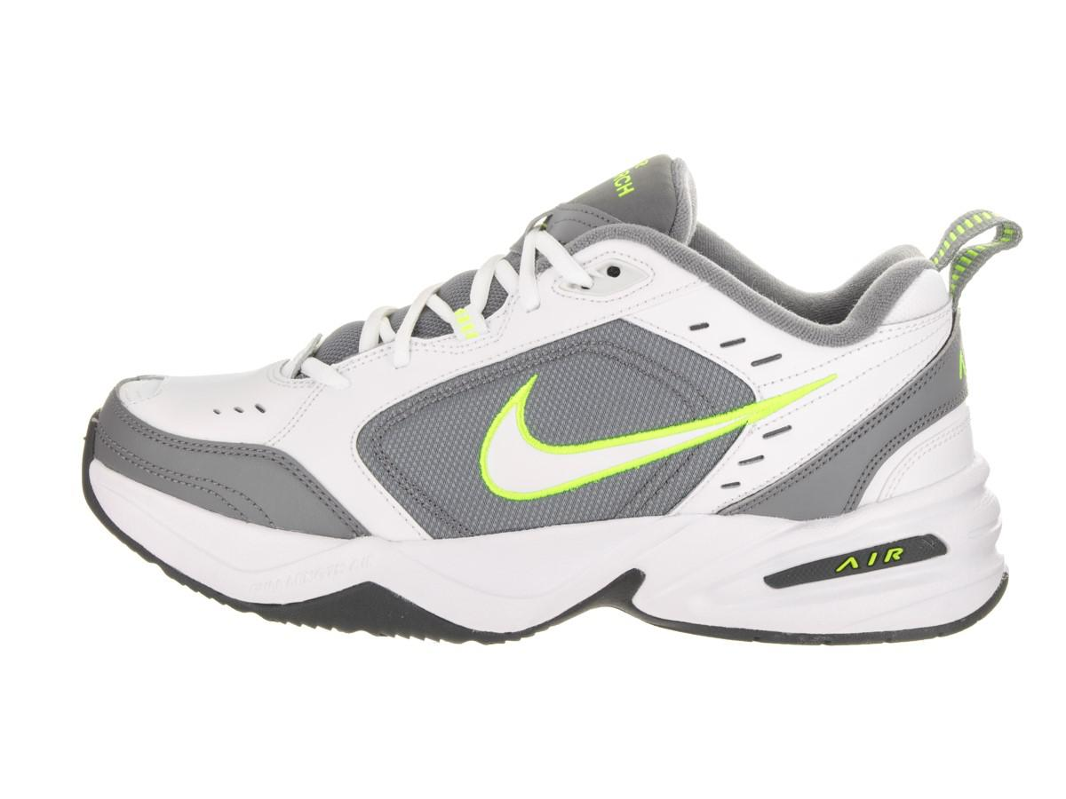 6c8872be69f Lyst - Nike Air Monarch Iv White white cool Grey volt Training Shoe ...