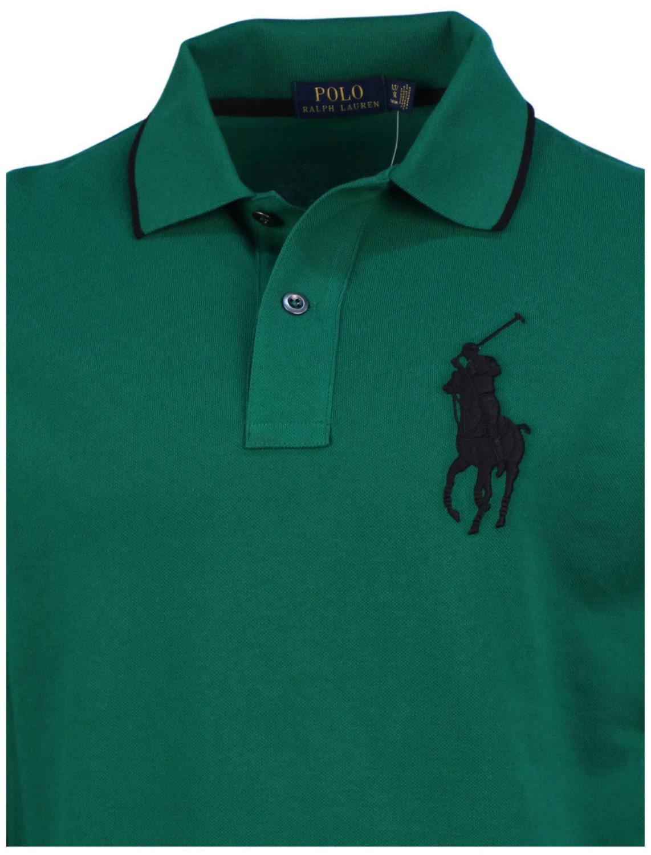 Lyst Polo Ralph Lauren Big Tall Ls Big Pony Knit Shirt Green
