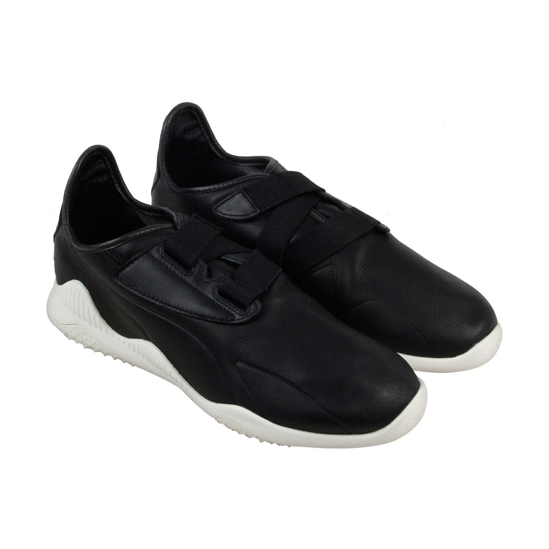 Lyst - PUMA Mostro Premium Black Whisper White Mens Strap Sneakers ... 0c8a71d21