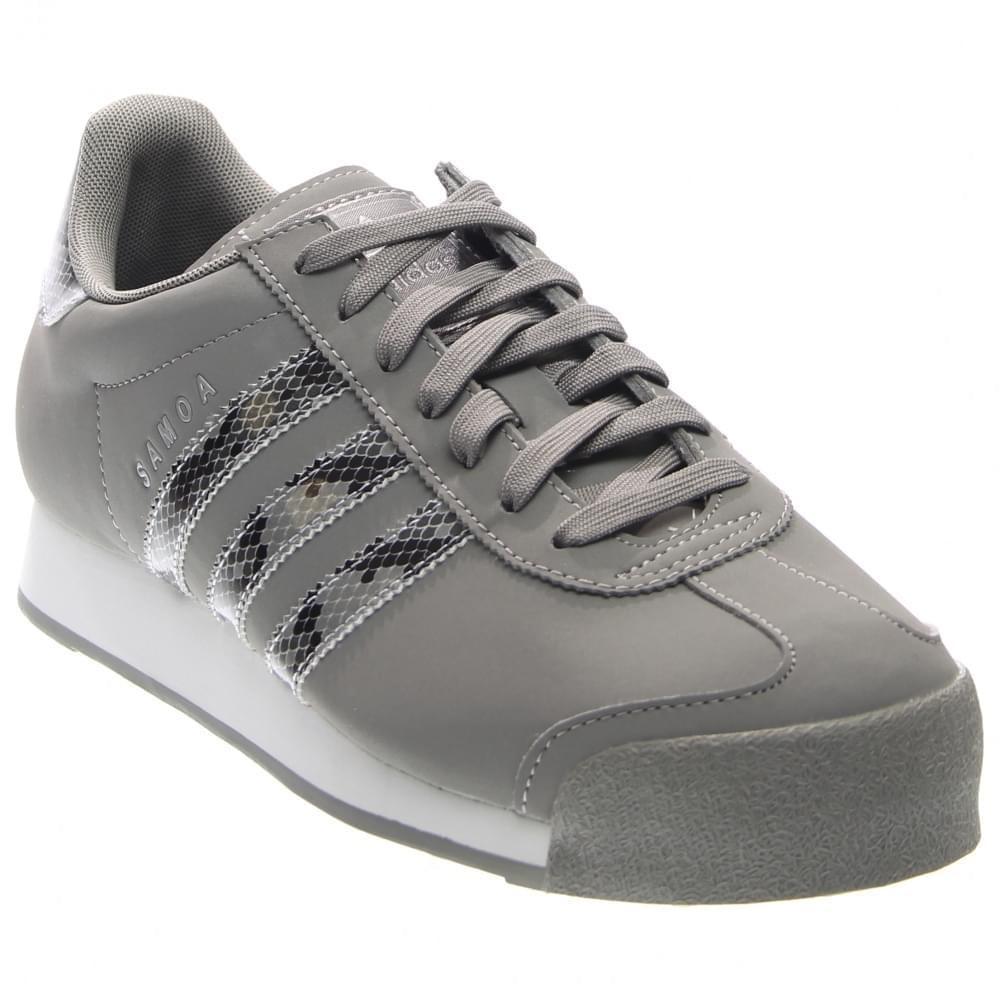 12362e7c5fdb6c Lyst - adidas Originals Samoa Reptile Casual Shoes Size 11 in Gray ...