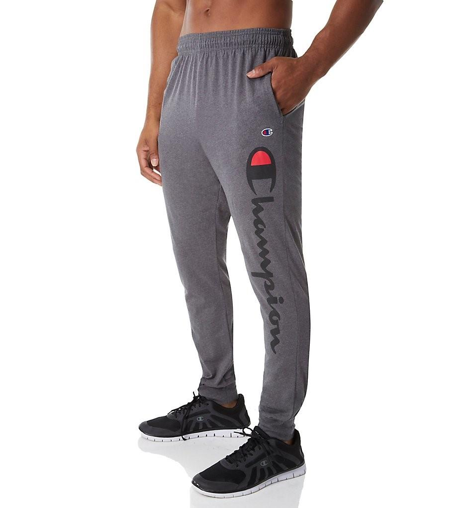 ec2a2e590 Lyst - Champion Gp08h Classic Jersey Graphic Jogger in Gray for Men ...