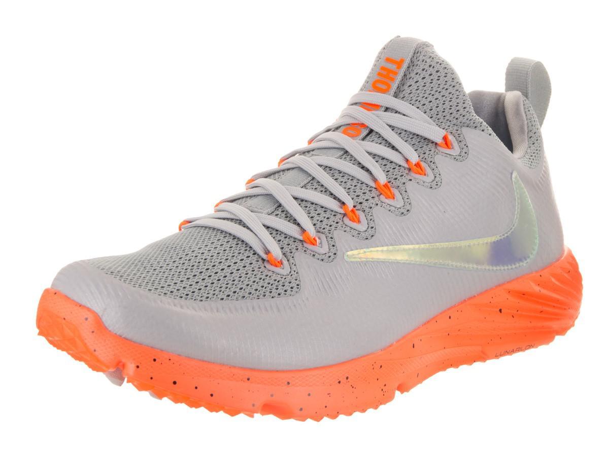 7b1a47c632 Lyst - Nike Vapor Speed Turf Lax Wolf Grey/total Orange/black ...
