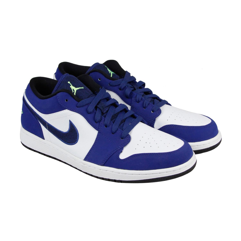 6ba4d9ffd54e Lyst - Nike Air Jordan 1 Low Insignia Blue Ghost Green Wolf Grey ...