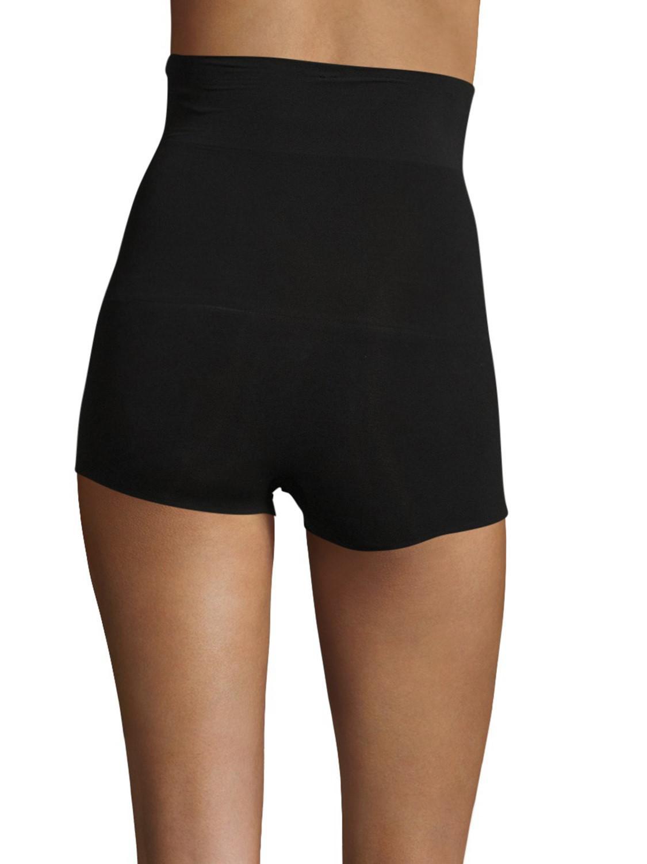 df1d75b56374 Lyst - Spanx Haute Contour High Waist Shorty Control Shorts 2331 in ...