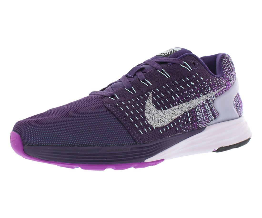 b65941c9930cb ... best price lyst nike lunarglide 7 flash running shoes size 7.5 in  purple 5c2a5 57eaa
