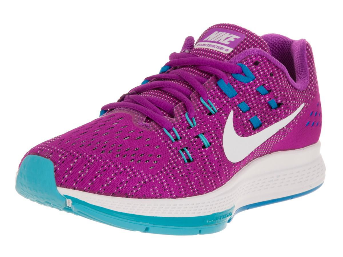 premium selection 8b6c9 909a5 Nike Air Zoom Structure 19 Hypr Vlt white gmm Bl pht Bl Running Shoe ...