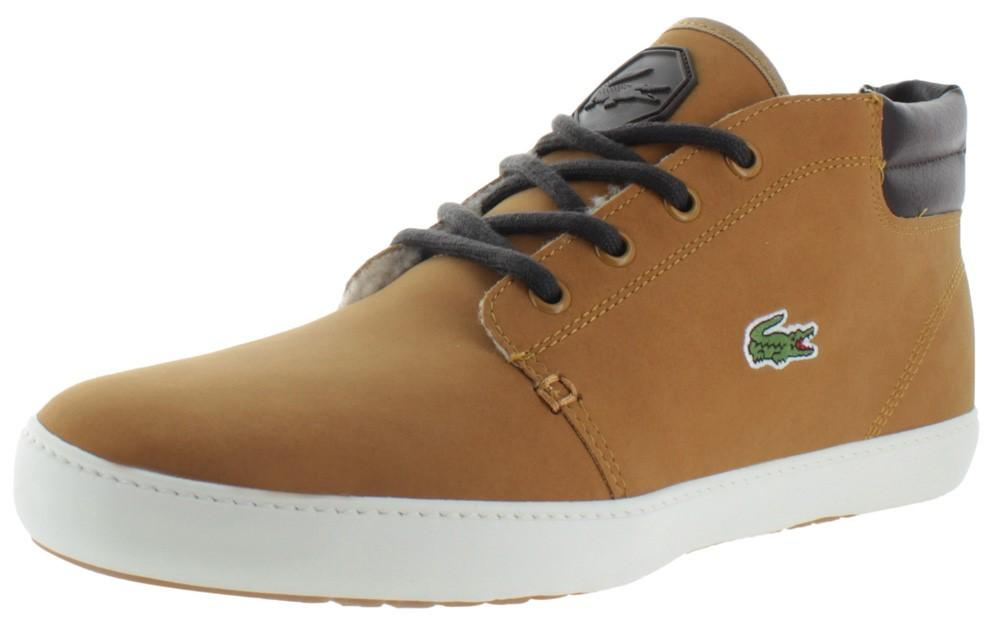 babd07b50 Lyst - Lacoste Ampthill Terra Put Fur Mid Top Sneakers Shoes in ...