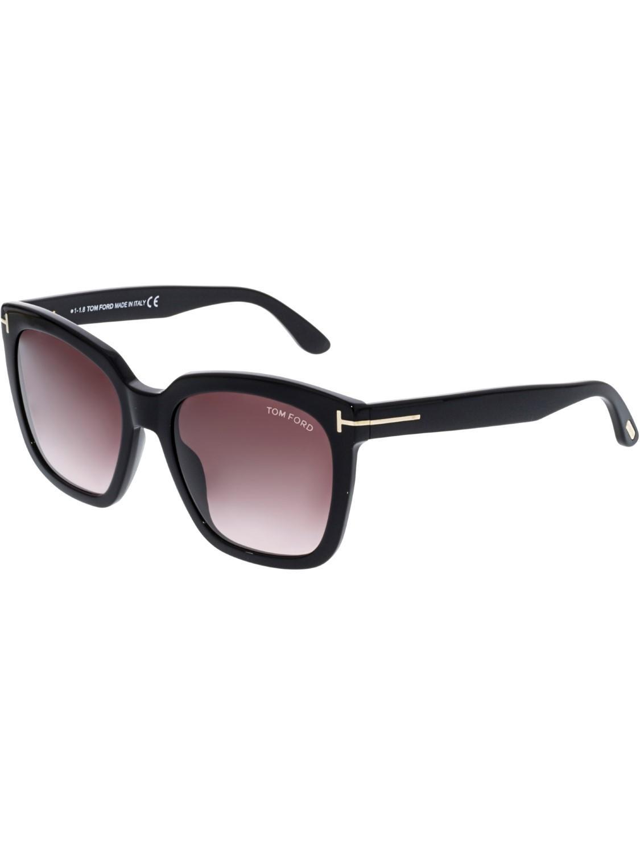 c9a9f89215 Tom Ford - Black Amarra Square Sunglasses - Lyst. View fullscreen