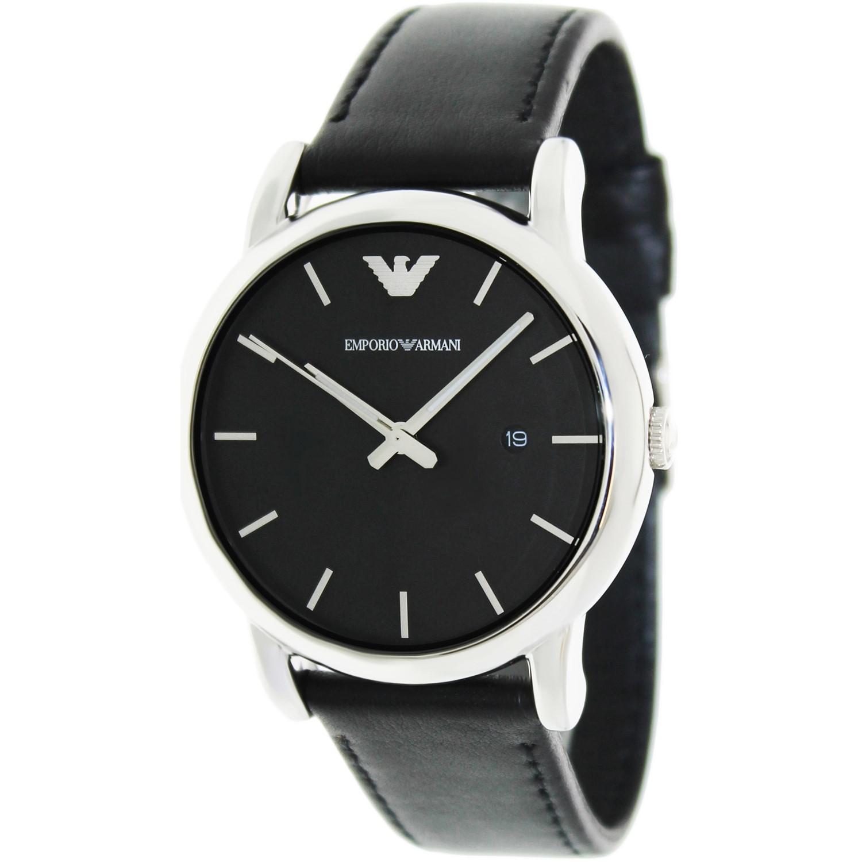 21dac4be7 Emporio Armani Armani Ar1692 Classic Leather Watch for Men - Lyst
