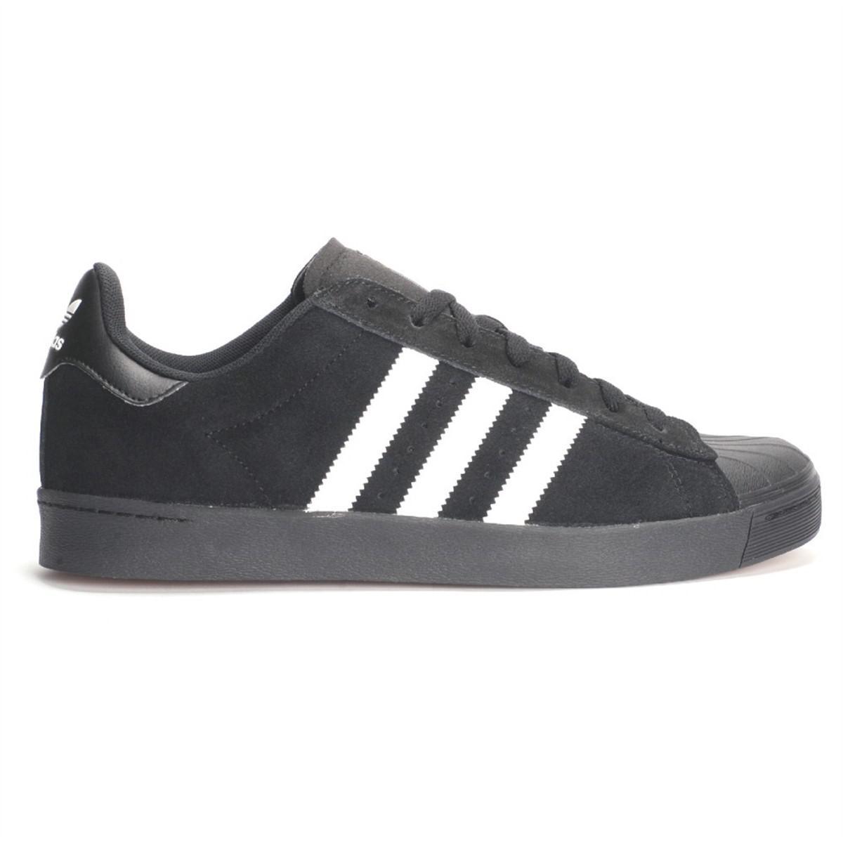 promo code 6c7ab c7d4a Lyst - Adidas Superstar Vulc Adv Blackftwwhtblack Skate Shoe