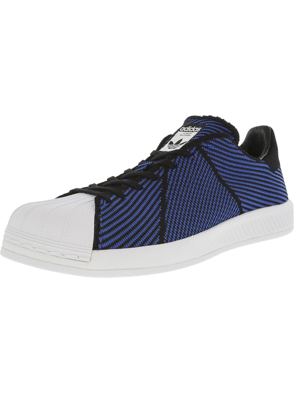 57bb7130b Lyst - adidas Superstar Bounce Pk Core Black   Blue Footwear White ...