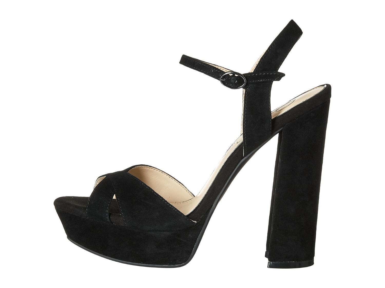 09a309f243 Lyst - Jessica Simpson Naidine Dress Sandal Black Suede in Black