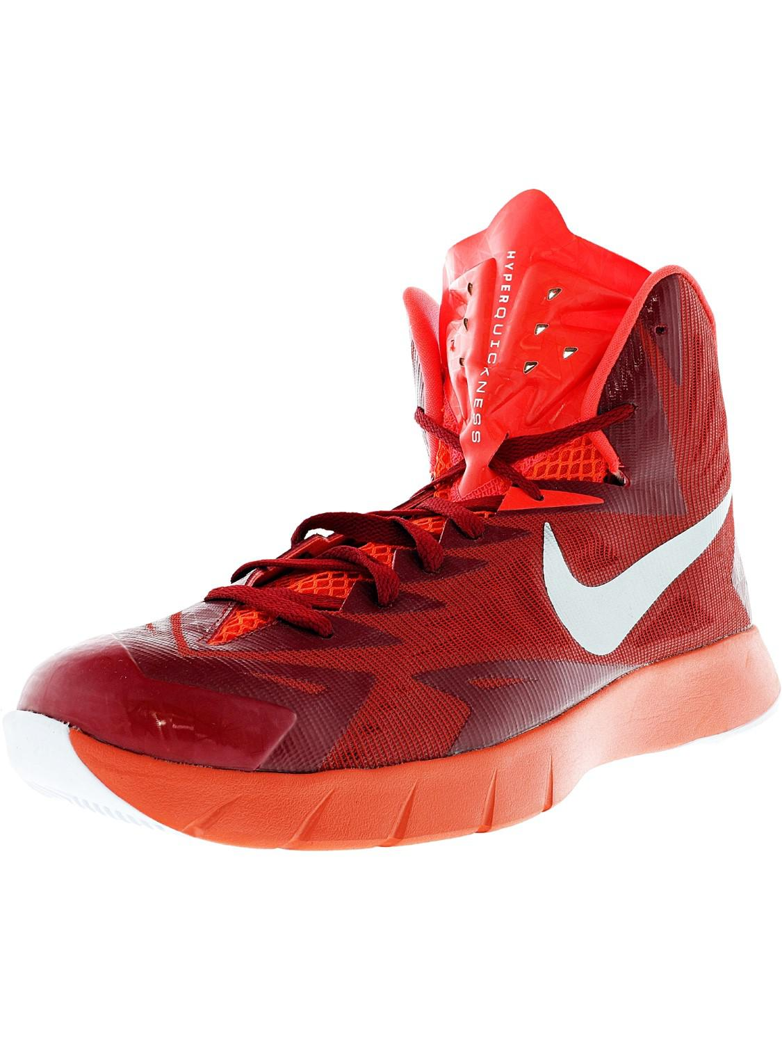 2eafd84b5d1f Lyst - Nike Lunar Hyperquickness Tb .5 Red Basketball Shoe.5 in Red ...