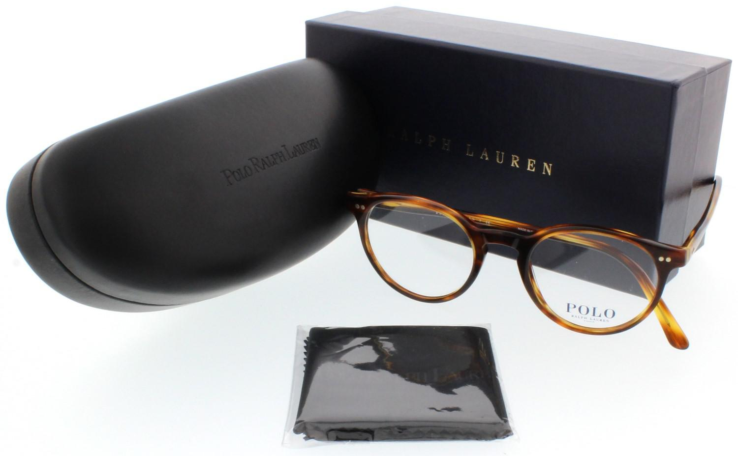 Lyst - Polo Ralph Lauren Eyeglasses Polo Ph 2083 5007 Havana Striped ... 00824a0e3e