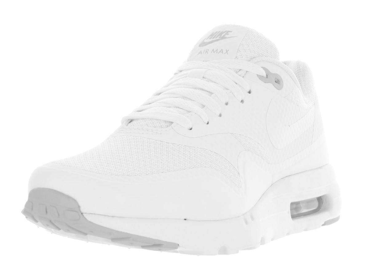 best sneakers 909dd bab1e Lyst - Nike Air Max 1 Ultra Essential White white pure Platinum ...