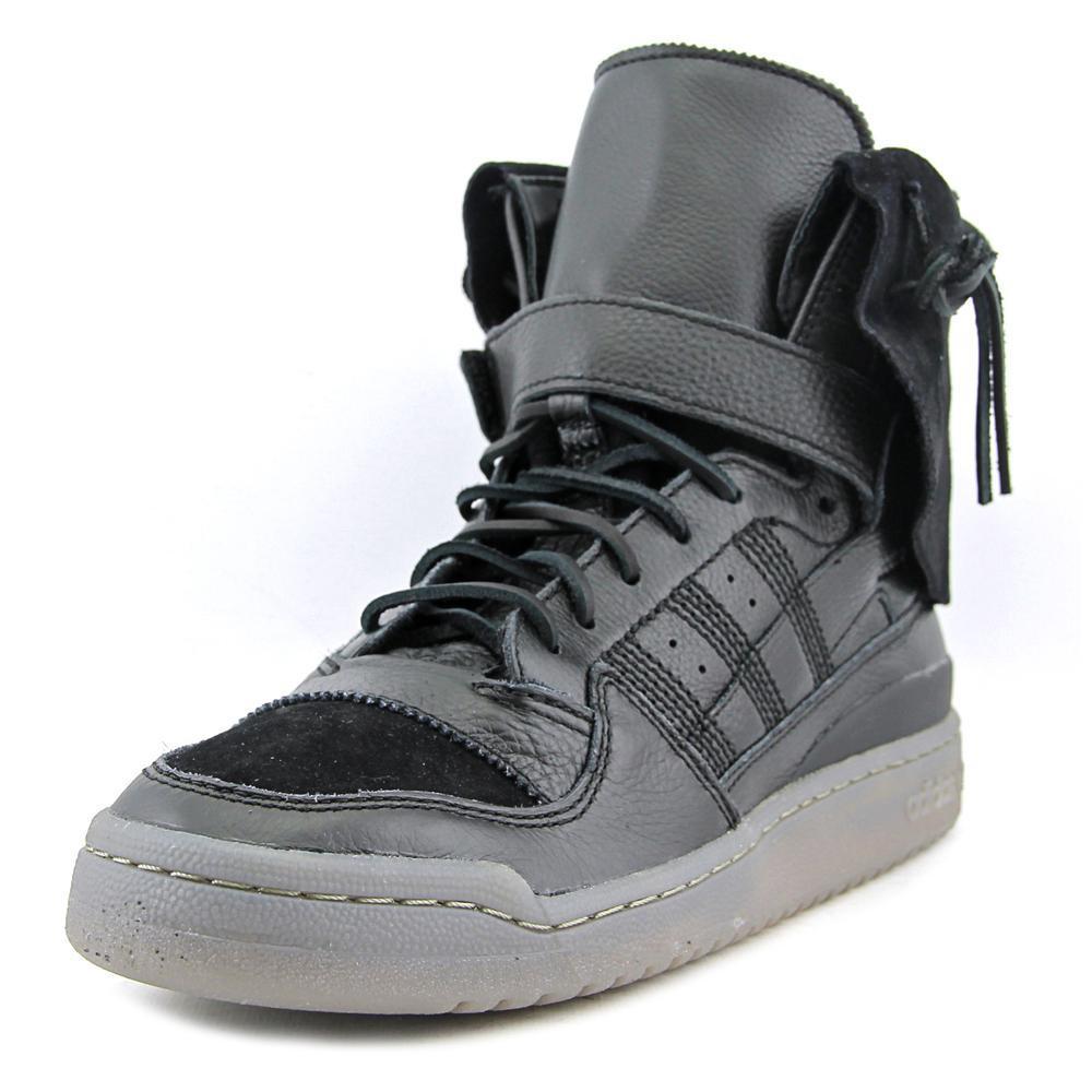 sale retailer 379f1 5c4cc ... netherlands lyst adidas forum hi moc men us 12 black sneakers in black  for men 264eb