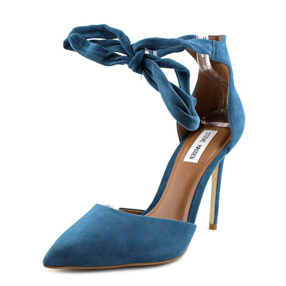 15710bb0667 Lyst - Steve Madden Tracie Blue Heels in Blue