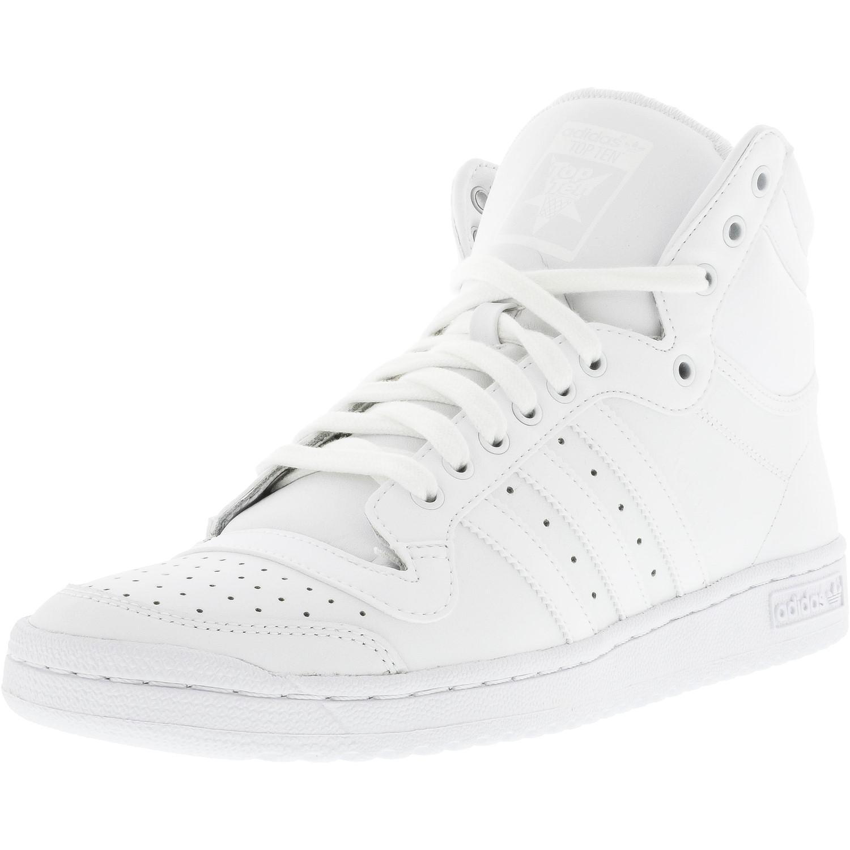 Lyst Adidas Dieci Salve Ftw Bianco / Caviglia Alta Moda Di Cuoio