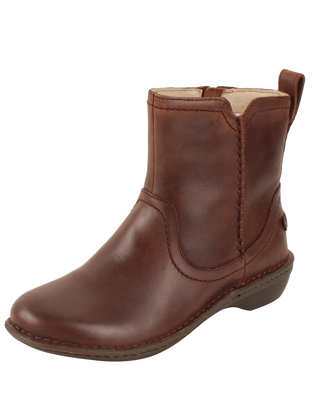 dd78642d02b Lyst - UGG Neevah Women Us 10 Brown Ankle Boot in Brown