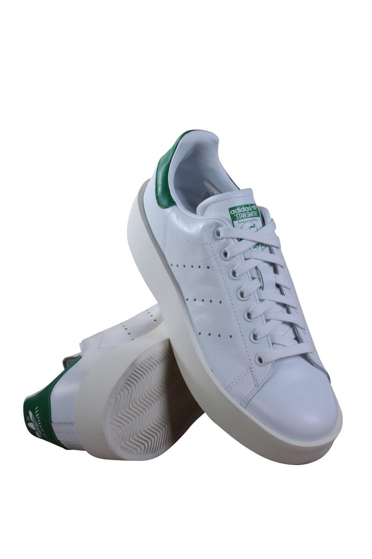 Lyst Adidas Stan Smith Bold / originales ftwwht / ftwwht / Bold verde casual 00fe37