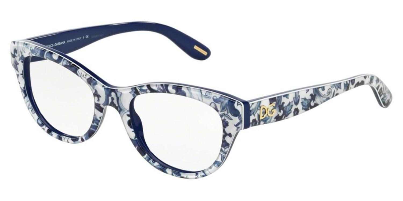 c52425f3b6 Lyst - Dolce   Gabbana Eyeglasses Dg 3203 2993 Maioliche Patenopee ...