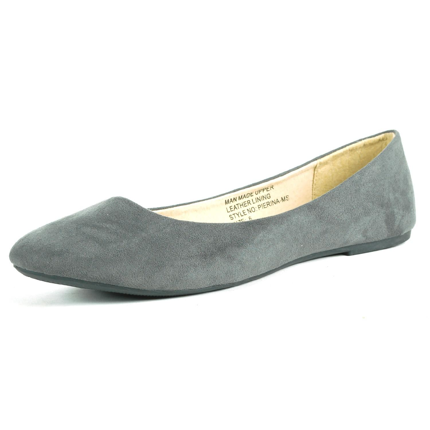 182e37ffab067 Alpine Swiss - Gray Pierina Ballet Flats Leather Lined Classic Slip On Shoes  - Lyst. View fullscreen
