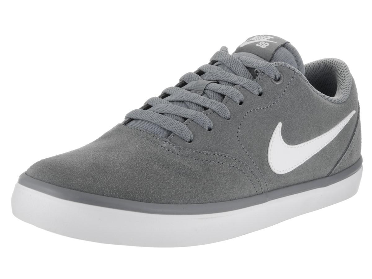 3d559f2d1e62e0 Lyst - Nike Sb Check Solar Cool Grey white Skate Shoe 8 Men Us   9.5 ...