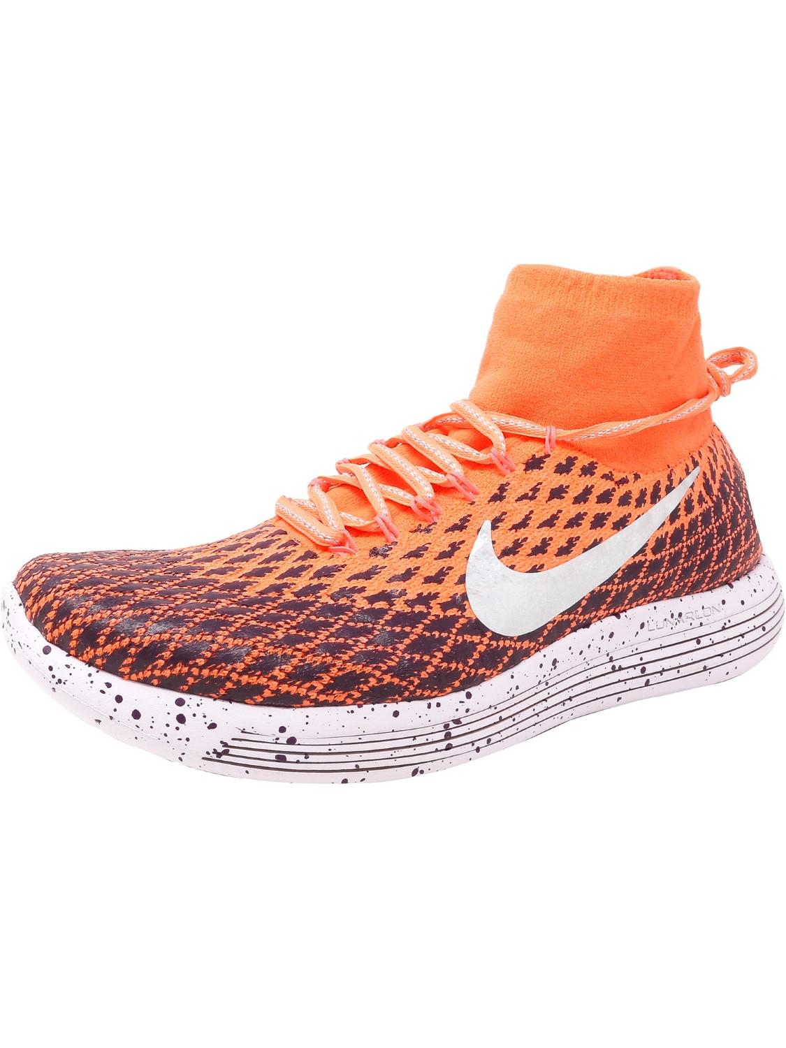 64c72ad31e9d4 Lyst - Nike Lunarepic Flyknit Shield Ankle-high Fabric Running Shoe ...