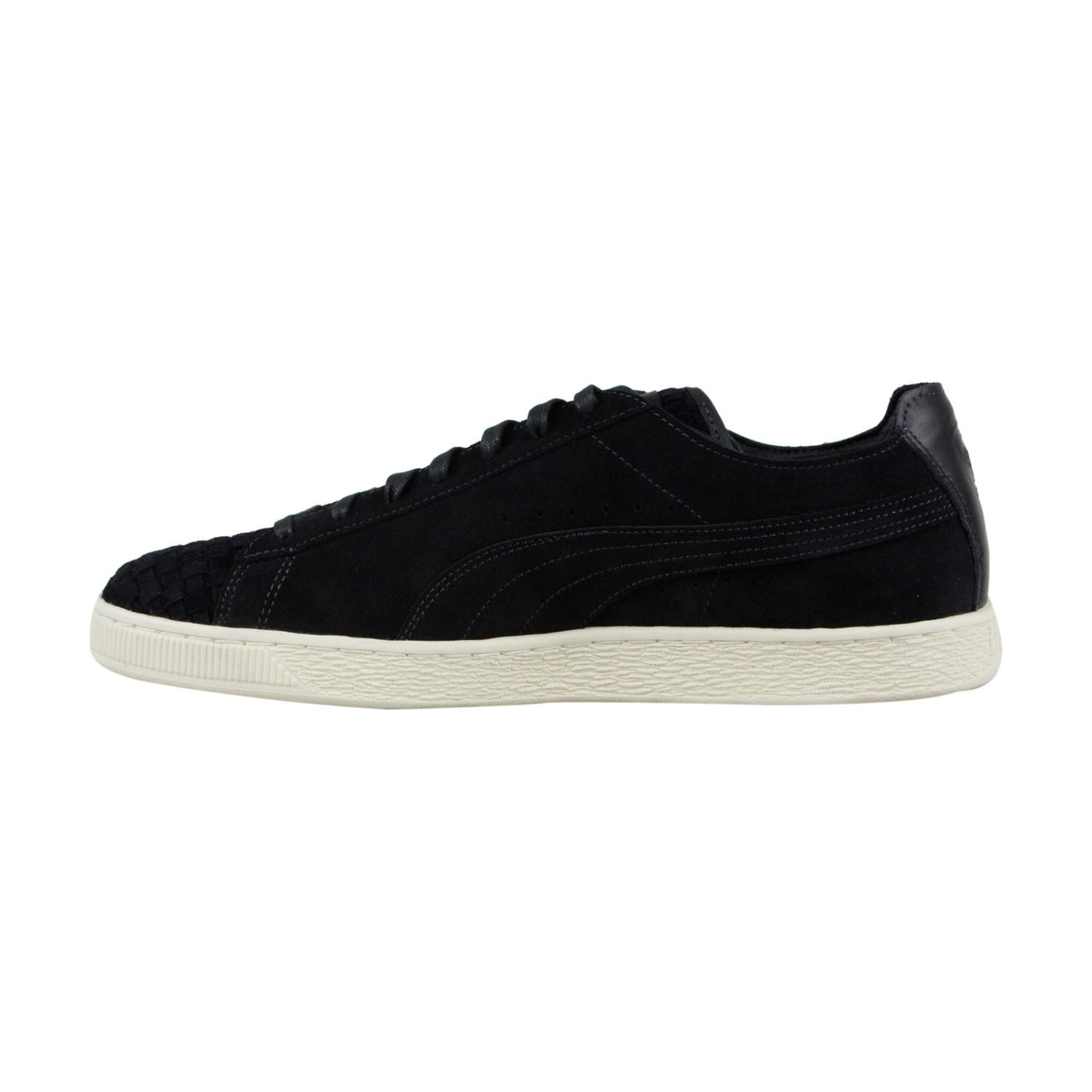 Lyst - PUMA Sf Ls Moonless Night Whisper White Lace Up Sneakers in ... da38cde41