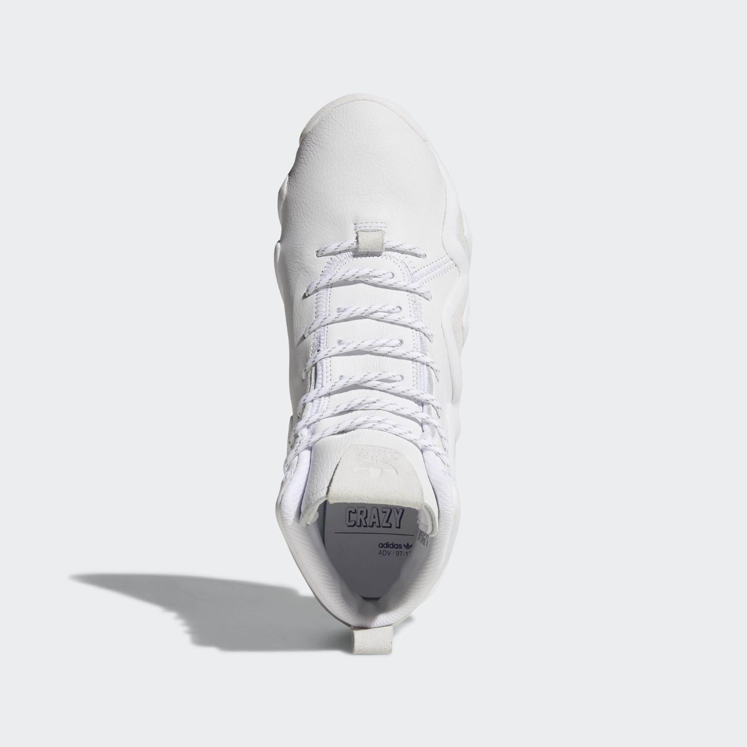 new style 5c486 2dbf4 Adidas - White Crazy 8 Adv Shoes for Men - Lyst. View fullscreen