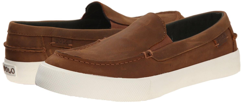 d050878f1ee Lyst - Polo Ralph Lauren Trentham Moc Toe Slip-on Loafer Sneaker ...