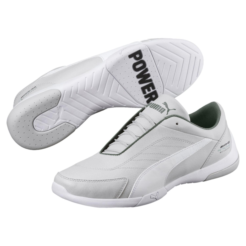 b7a2c33d287874 Lyst - PUMA Mercedes Amg Petronas Kart Cat Iii Sneakers in White for Men