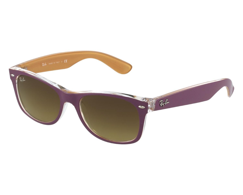 421b4464377 Lyst - Ray-Ban Sunglasses Rb 2132 619285 Top Matte Violet On Orange