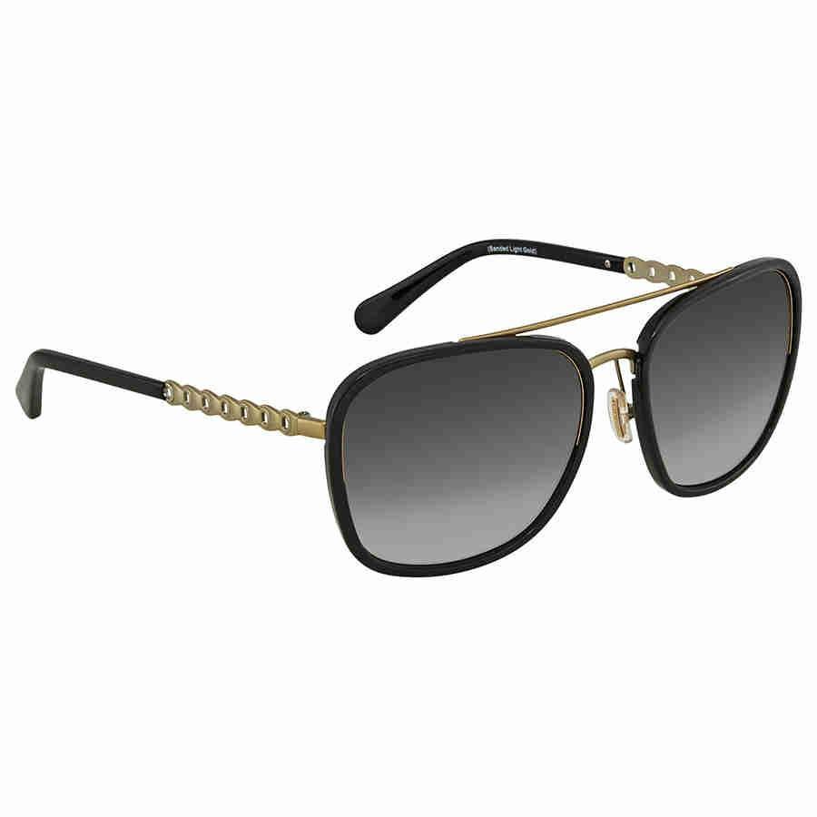 88b532e9fa Lyst - Coach Grey Gradiant Aviator Ladies Sunglasses Hc7089 931811 ...