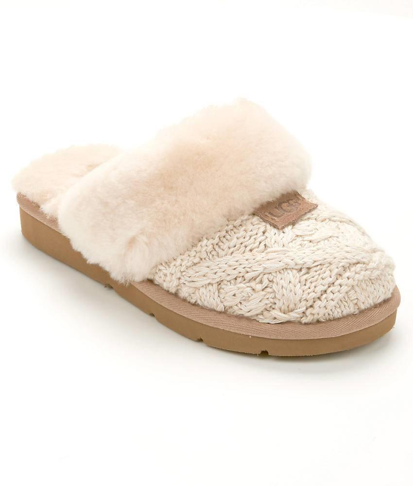 Cozy Knit Heart Ugg Slippers Famous Slipper 2018