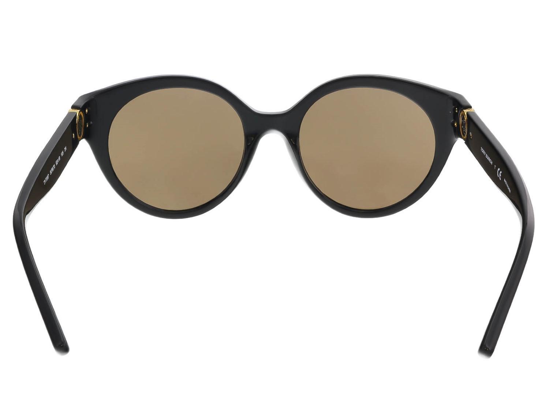 65c7ac963c99 Tory Burch Ty7087 Sunglasses Black/smoke Solid in Black - Lyst