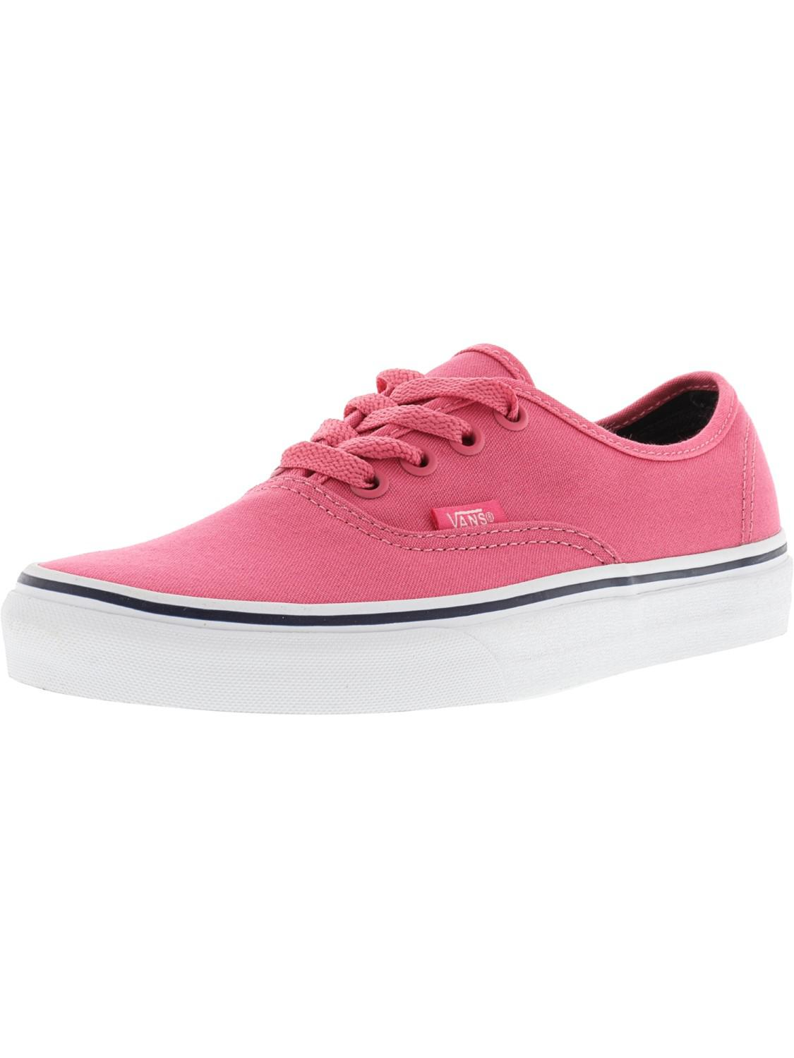 c9c1e81ce75 Vans - Pink Authentic Ankle-high Canvas Skateboarding Shoe - 7.5m 6m -  Lyst. View Fullscreen