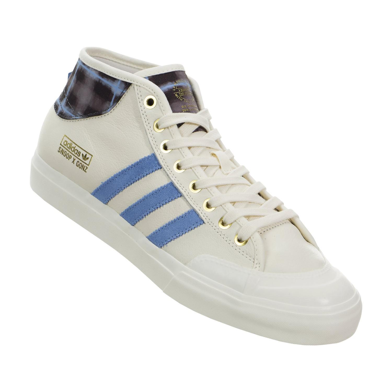 8ce7edd1e3823c Lyst - adidas Gonz X Snoop Matchcourt Mid Shoes in Blue for Men