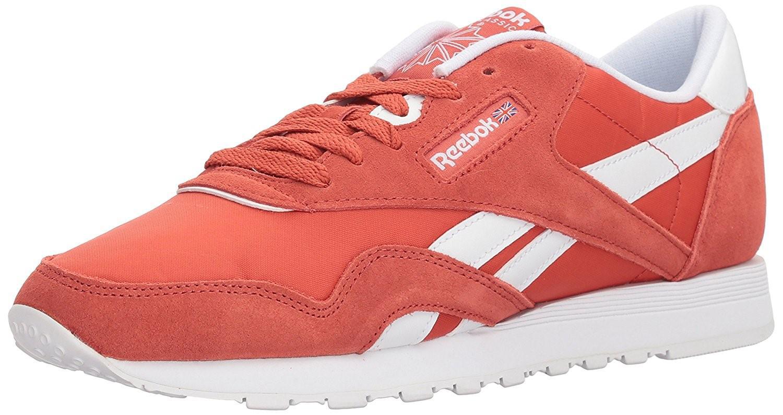 d94893cd27edc Lyst - Reebok Bs9377  Cl Nylon Neutrals Sneaker in Red for Men