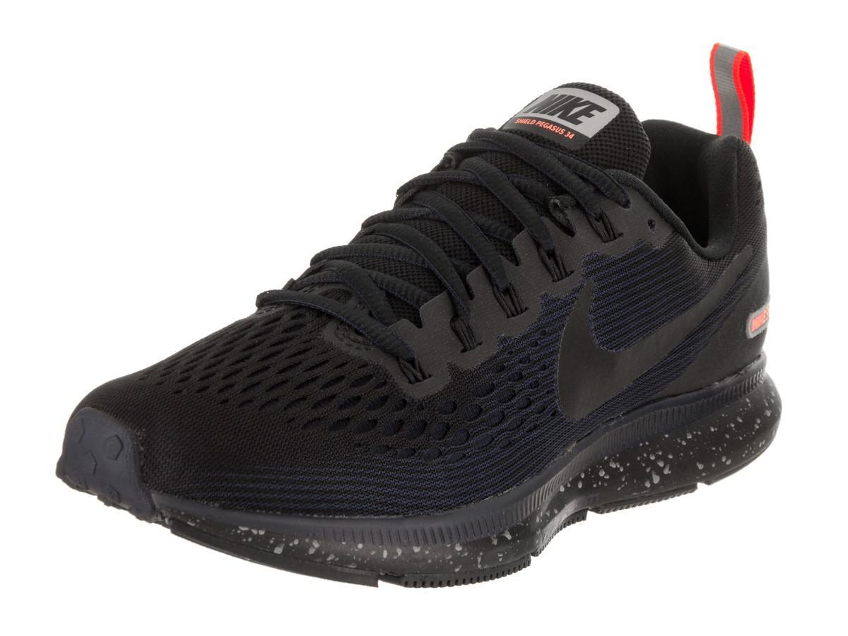 2332291aaa75 Lyst - Nike Air Zoom Pegasus 34 Shield Running Shoe 7.5 Us in Black ...