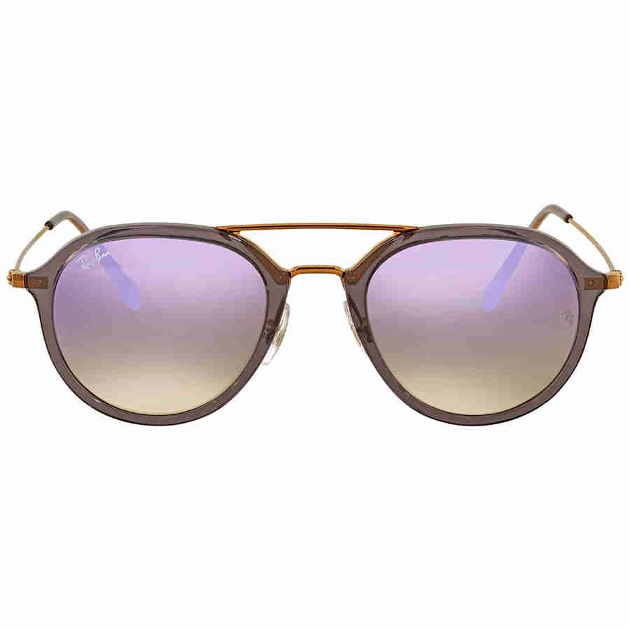 096e6760b212d Lyst - Ray-Ban Ray Ban Lilac Gradient Flash Sunglasses